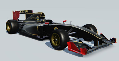 Lotus exos 125 vehicle