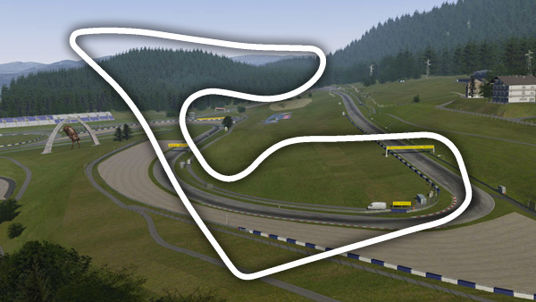 Red Bull Ring Grand Prix Cricuit track