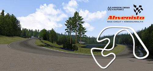 Ahvenisto Race Circuit track