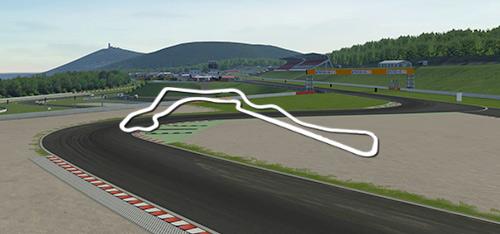 Autodrom Most 2018 track