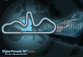 Dijon-Prenois GP track