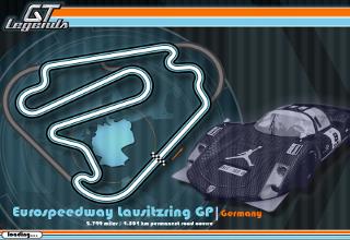 Eurospeedway Lausitzring Gp track