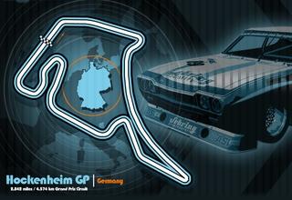 Hockenheim GP track