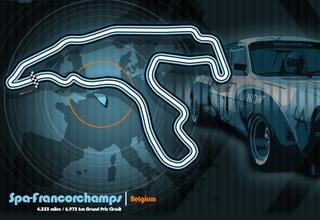 Spa-Francorchamps track