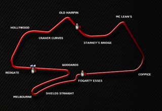 Donington Park, 2004 track