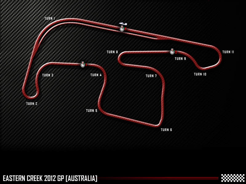Eastern Creek International Raceway track