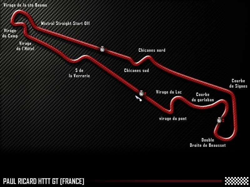 Paul Ricard HTTT GT track