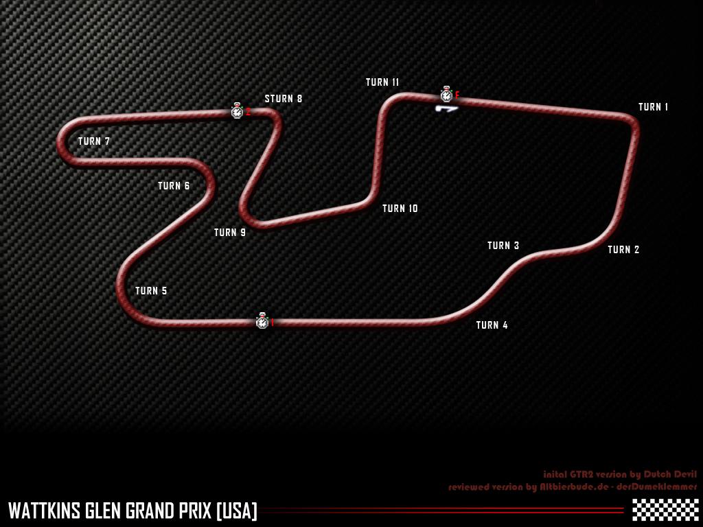Watkins Glen GP track