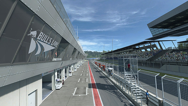 Red Bull Ring Spielberg track
