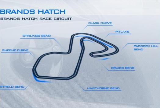 Brands Hatch 2007 track